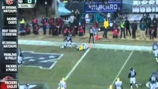 ESPN - The Blitz - Green Bay Packers at Philadelphia Eagles Highlights 1-9-2011