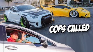 1000HP GTR Vs Old Man! (Pulled Over)