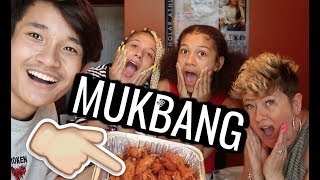 100 WINGS MUKBANG! W/ MIGHTYNIECY, ERMANI MONET, MIGHTY MOM
