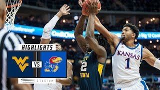 West Virginia vs. No. 17 Kansas Basketball Highlights (2018-19) | Stadium
