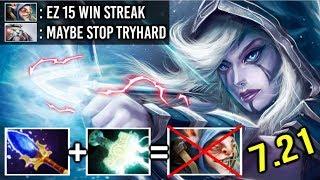 Electric Split Arrow Drow Ranger vs Meepo Epic RAMPAGE Melt Enemy Like a Pro by Yarin 7.21 Dota 2