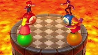 Mario Party: The Top 100 Mini Games - Mario Vs Waluigi Vs Peach Vs Wario (Master CPU)