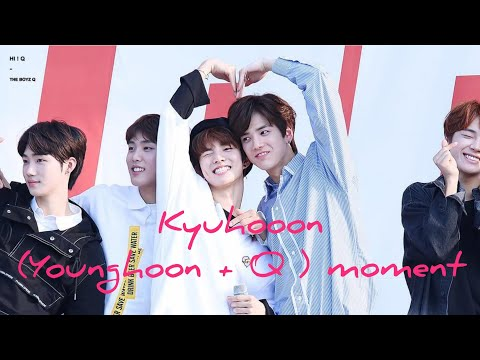 THE BOYZ (더보이즈) KYUHOON/YOUNGKYU (YOUNGHOON + Q) CUTE MOMENT