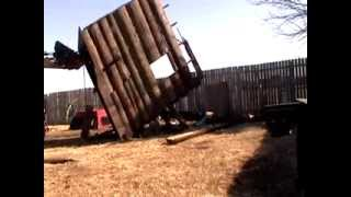 Fort Destruction how to destroy a fort with a tractor