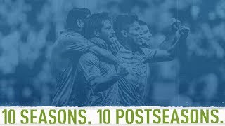 Sounders tie MLS playoff streak record with ten postseason appearances