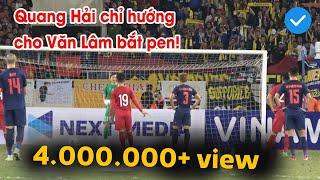 Cực Độc: Quang Hải chỉ hướng cho Văn Lâm cản phá penalty xuất sắc | NEXT SPORTS