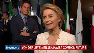 La nueva presidenta de la Comisión Europea, Ursula von der Leyen, admite problemas con EEUU, pero quiere que trabajen juntos