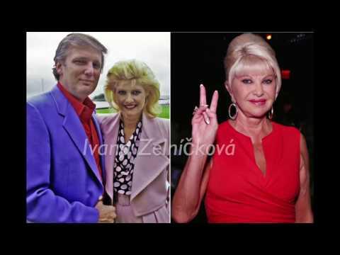 الزوجات الثلاث للرئيس الأمريكي ترامب
