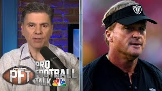 Jon Gruden not left with many options in Antonio Brown drama | Pro Football Talk | NBC Sports
