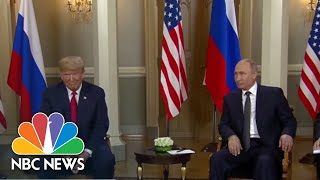 Donald Trump And Vladimir Putin Sit Down For Face-To-Face Talks | NBC News