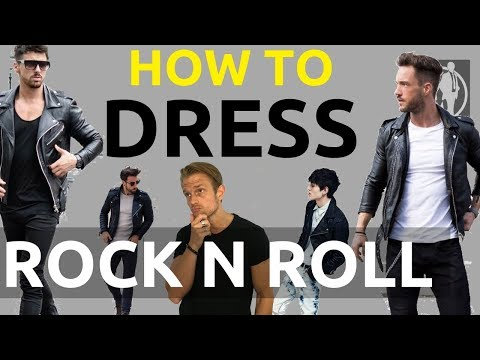 Rockstar Clothing Fashion For Men | How To Dress Like A Rockstar | Rock n Roll Style Clothing