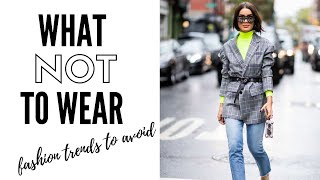 Winter Fashion Trends To Avoid In 2019   How To Style