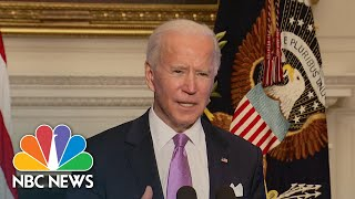Biden Announces Covid Vaccine Supply Surge To States Across U.S. | NBC Nightly News