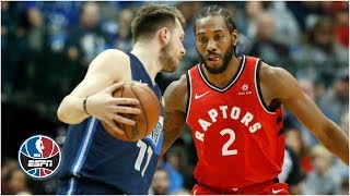 Kawhi Leonard and Luka Doncic duel in Raptors vs. Mavericks | NBA Highlights