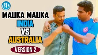 Mauka Mauka Funny Ad (India vs Australia) - ICC Cricket Wo..