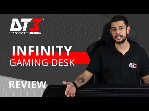 Gaming Desk Infinity - Mousepad de 1,40m!