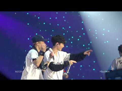 160729 THE EXO'rDIUM lucky one LAY 张艺兴