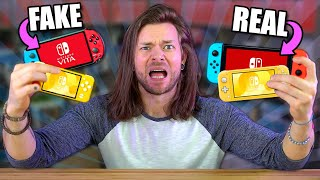 The FAKE $50 Nintendo Switch Consoles