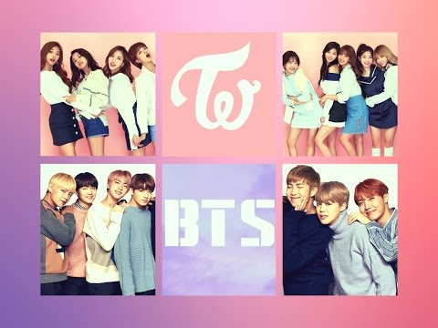 BTS & TWICE MOMENTS COMPILATION