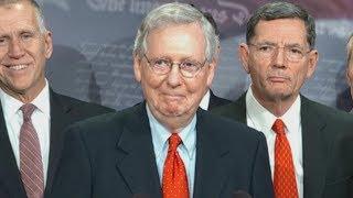 GOP tax bill passes through the Senate