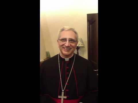 Saluto del Vescovo Mons. Miniero alla Comunità di Rofrano