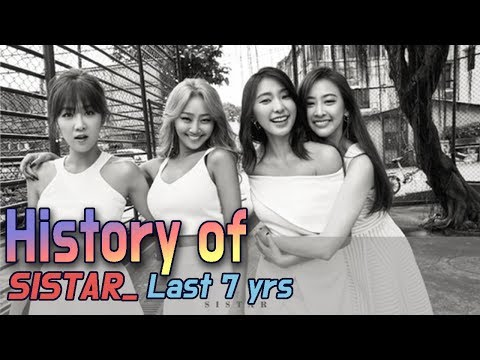 [60FPS] SISTAR 7yrs, From Debut to the Last (14 songs)