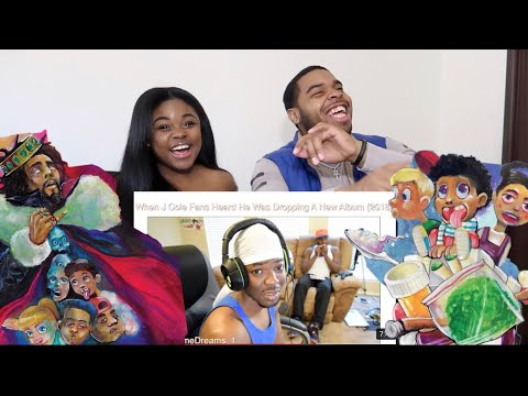 HOW J COLE FANS ACT WHEN SOMEBODY DOSEN'T LIKE HIS NEW ALBUM (K.O.D) 🔥| REACTION!!!