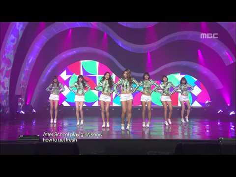 AFTER SCHOOL - Let's Do it, 애프터스쿨 - 렛츠 두 잇, Music Core 20100501