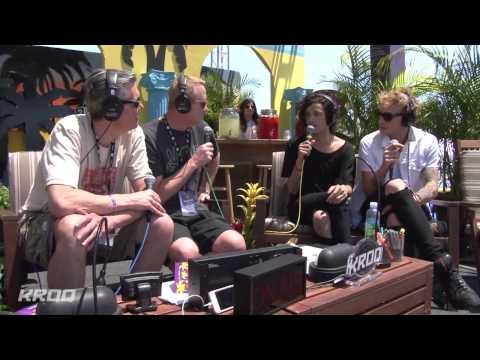 The 1975 Interview - KROQ Weenie Roast 2014