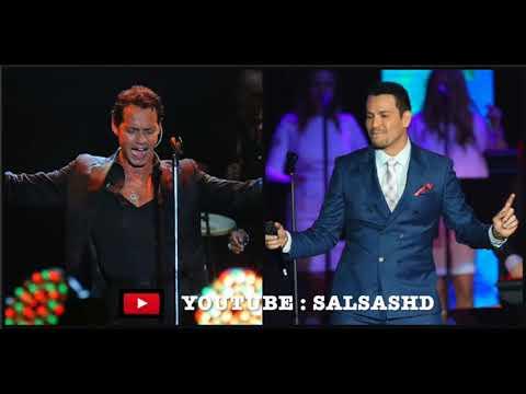 Marc Anthony VS Victor Manuelle - Salsa Romantica MIX Vol.1 [GRANDES EXITOS] (UNA HORA COMPLETA)