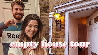 MOVING VLOG 2 - EMPTY LONDON HOUSE TOUR | LUCY WOOD