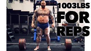 1003lbs/455kg PR DEADLIFT! HEAVIEST DEADLIFT EVER FOR REPS!?