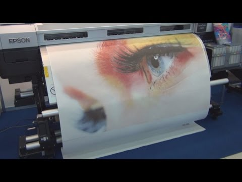 Epson SureColor SC-F9200 digital dye sublimation printer review in 3D