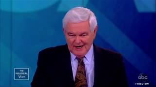 """Newt Gingrich on Joe Biden's 2020 Run and """"Collusion"""" Book 