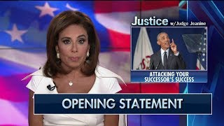 Pirro to Obama: 'Your Lies, Your Policies and Your Divisiveness' Are Why Trump Is President
