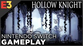 Hollow Knight: 17 Minutes of NINTENDO SWITCH Gameplay! (Handheld & Docked)
