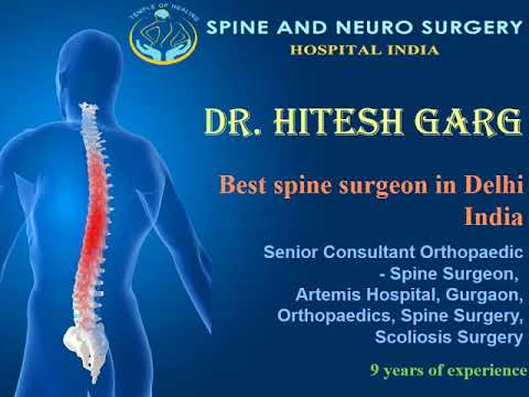 Dr Hitesh Garg: Spine, Surgery and Orthopaedics specialist in Gurgaon