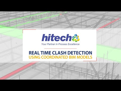 Real time clash detection using coordinated BIM models