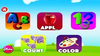 ABC SONG | ABC Songs for Children | ABC Colors Shapes & Numbers Nursery Rhymes