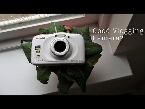 video Nikon Coolpix W100 Kamera blau