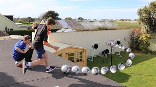 ROOF TOP FOOTBALL CHALLENGES