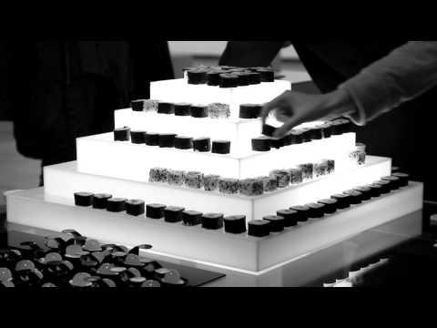 Mi boda con Sushi (Presentación pirámide)