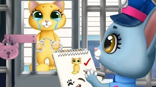 Play Fun Pet Kitten Rescue Kids Game - Kitty Meow Meow City Heroes - Let's Rescue The Cute Animals