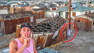 HIDE and SEEK in Abandoned Town....*100 years old*