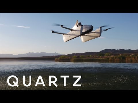 Meet the Flyer, Larry Page's fun little flying car
