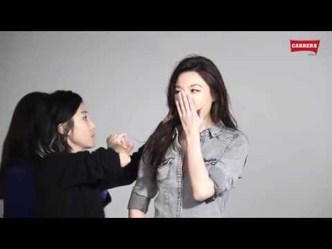 김하늘 CARRERA Jeans 2014 S/S 메이킹 필름