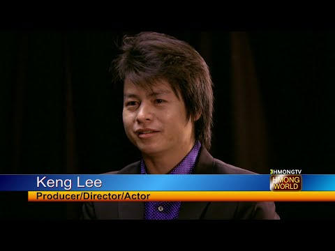 "Keng Lee talks about his latest movie, ""Teev Kua Muag Ntshav"" with Kabyeej Vaj."