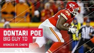 Chiefs Defensive Tackle Dontari Poe Throws a TD! | Broncos vs. Chiefs | NFL Week 16 Highlights