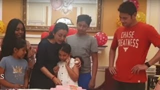 Mahesh Babu's Daughter Sitara Birthday Celebrations..