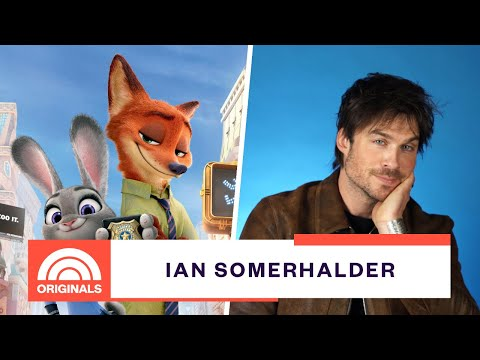 'V Wars' Star Ian Somerhalder's Daughter Is obsessed With 'Zooptoia' | TODAY Original